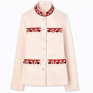 New Tory Burch Sgt Pepper Jacket Size L